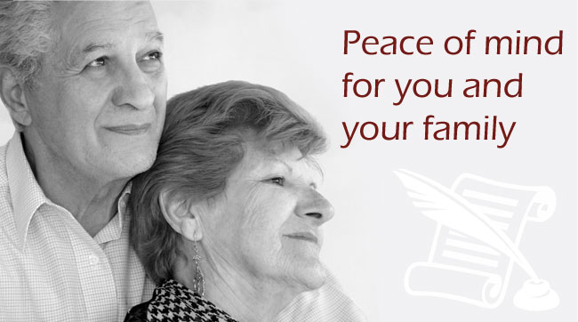 Peace of mind for you and your family